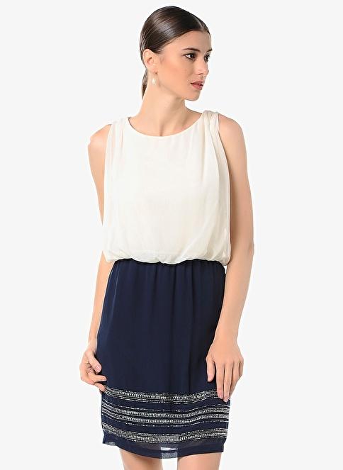 Vero Moda Mini Elbise Beyaz